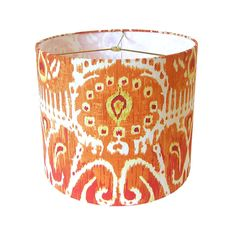 Sale+Lamp+Shade++Drum+Ikat+Lampshade+Pendant+by+CruelMountain,+$65.00