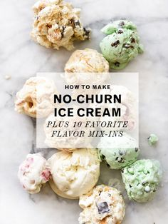 It only takes 3 ingredients! How to Make No-Churn Ice Cream Plus 10 Favorite Flavor Mix-Ins