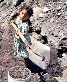 According to Unicef estimates, one in six children (158 million) aged 5-14 are engaged in child labor. BIBLE IN MY LANGUAGE