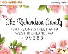 address stamp for wedding invitations