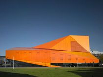 Theatre Agora Lelystad Ph Christian Richters. Designed by UN Studio Ben Van Berkel & Caroline Bos