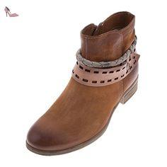 Mjus, Bottes pour Femme - - CUOIO/DUNE/SASSO, - Chaussures mjus (*Partner-Link)