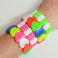 Neon bracelet - My Little Day 1970s Childhood, My Childhood Memories, Sweet Memories, Neon Bracelets, Those Were The Days, Girls Jewelry, My Memory, School Fun, Vintage Toys