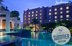 #ThePerfectSummerStay is when you wake up to the majestic and serene view of the swimming pool.