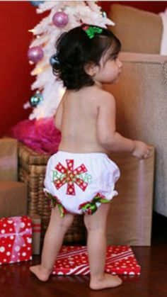 """Believe Snow Flake Bloomers Price: $10.99 With Free Standard Shipping  Options: 0-2T This adorable Christmas bloomer is embellished with """"Believe.""""  Red and white polka dot, and green satin bows add an extra touch of cuteness. These Christmas bloomers will be perfect for photos, or wearing under Christmas dresses, petti skirts, or tutus.  To purchase, comment """"Sold and option (eg. size/color)"""" Register here to get your invoice: https://www.soldsie.com/pin/571397"""