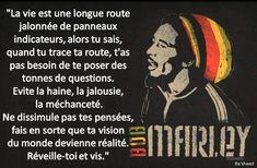 Citations et prove… Bob Marley Citation, Good Quotes For Instagram, Plus Belle Citation, Positive Affirmations, Best Quotes, Zen Zen, Cousin, Nelson Mandela, Bruce Lee