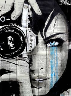 "Saatchi Art Artist LOUI JOVER; Drawing, ""one shot"" #art"