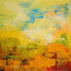Yellow landscape II (ref#:717-35Q)