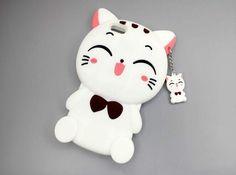 Cute smile cat phone case for iPhone 7 7 plus iphone 6 6s 6 plus 6s plus + Nice gift box 072301