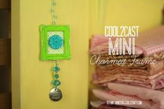 Cool2Cast Mini Charmed Frame by Tiffany Windsor featuring Ann Butler Crafters Ink and Stamps
