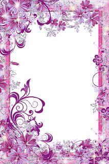 Frame Border Design, Page Borders Design, Photo Frame Design, Pink Background Images, Flower Background Wallpaper, Flower Backgrounds, Frames Png, Paper Frames, Rose Frame