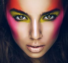 Neon makeup done right!