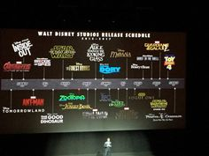 Disney Reveals Updated 'Moana' & 'Zootopia' Logos at CinemaCon --- I had no clue Disney was doing BFG or Ghost in the Shell! Disney Films, Disney And Dreamworks, Disney Pixar, Disney Marvel, Moana Disney, Disney Brands, Disney Wiki, Disney 2015, Disney Love