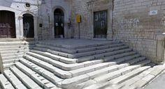 scalinata chiesa di San Domenico