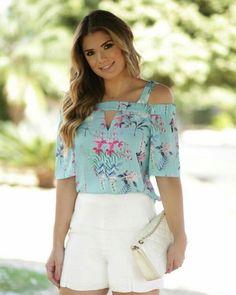 "516 Likes, 3 Comments - Mells Moda (@mellsmoda) on Instagram: ""E essa estampa ? 😻 muito linda! 🔸 Blusa Daniela. 🔸 R$125,90. 🔸 Compre aqui➡️www.mells.com.br ✔️…"""
