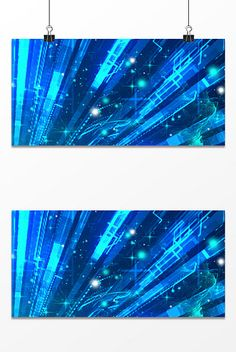 Blue business sci-fi design background#pikbest#backgrounds