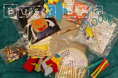 Potpourrimommy: 13 Busy Bag Activities