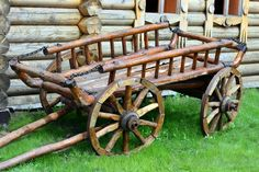 Wooden Wagon Making