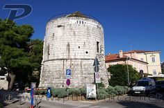 Round Tower in Poreč from the age of Venetian Republic