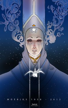 One of the most beautifully drawing artists I've ever come across - may your sould take flight: RIP Moebius 1938 - 2012