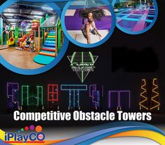 TAG Active – Interactive Arenas & Cyber Towers iPlayCO is proud to introduce the newest products in our Adrenaline Park Equipment.  TAG Active promotes fitness, fun and competition.   TAG is a new concept in social active leisure through the technological gamification of physical events. A creative blend of physical obstacles and challenging events with immersive activities that make up the multilevel, multi zoned TAG Arenas.   #iPlayCO #TAGactive #InteractiveArenas #CyberTowers Park Equipment, Game Data, Indoor Playground, New Product, Cyber, Competition, Branding, Fitness Fun, Concept