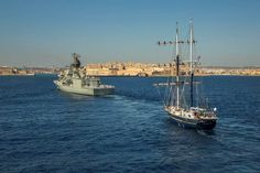 Australian Navy Engages with Malta. At the entrance to the Grand Harbour of Valletta, Malta, the Royal Australian Navy frigate HMAS Anzac was joined by STS Young Endeavour for a formation entry, kicking off a few days of engagement between the Australian Navy and the people of the Republic of Malta.  The Centenary of Anzac, a major focus of Anzac's and Young Endeavour's respective deployments, was part of the focus in Malta, with the two ship's companies being represented at a service at…