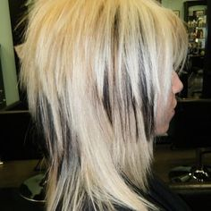 disconnected layers razor cut hair nails pinterest