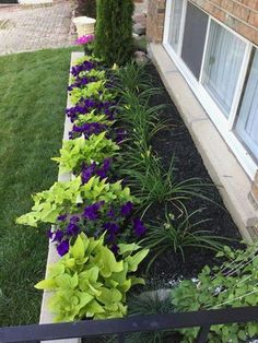 80 DIY Beautiful Front Yard Landscaping Ideas (60) #landscapingideas #LandscapingIdeas #gardenideasdiydecor
