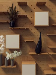Nomino Wall is a versatile and modular storage system that adapts to any room, making it suitable for living rooms, bedrooms, kitchens, offices, et...
