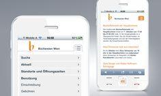 m.buechereien.wien.at / Büchereien Wien Mobile-Webseite © echonet communication GmbH