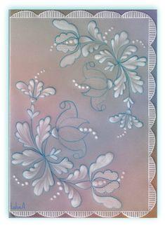pergamano fleurs persanes