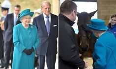 The Queen and the Duke of Edinburgh exclaimed with recognition when they saw bay mare Mary Tudor, who lived in the Buckingham Palace stables for 16 years before she retired.