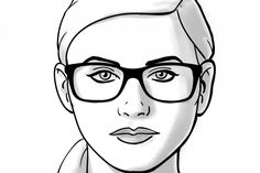 How TO: Choosing Glasses for Round Face Shapes. Coastal.com