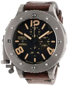 online shopping for U-Boat Men's 6475 Analog Display Swiss Automatic Brown Watch from top store. See new offer for U-Boat Men's 6475 Analog Display Swiss Automatic Brown Watch Swiss Luxury Watches, Luxury Watches For Men, Stylish Watches, Casual Watches, Patek Philippe, Fashion Watches, Men's Fashion, Men's Watches, Analog Watches