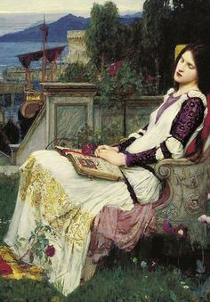 John William Waterhouse (1849-1917) Sainte Cécile [Saint Cecilia]1895