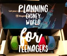 Many people think that Walt Disney World is just for children and many think it's just for girls. Well, I've got news for them: Walt Disney World is for all ages and genders. I've recently had the opportunity to plan a trip to Walt Disney World with two teenage boys in mind. It has …