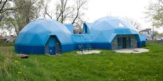 Geodesic Domes.  Dream