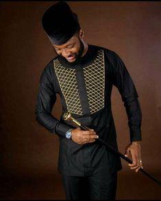 African men's clothing / African fashion / Wedding suit /dashiki /African men's shirt / African attire /Ankara styles African Dresses Men, African Attire For Men, African Clothing For Men, African Wear, African Style, Men African Shirts, African Clothes, Nigerian Men Fashion, African Men Fashion
