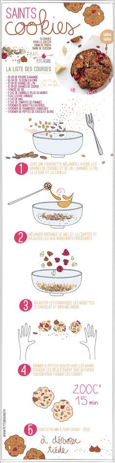 Saints Cookies - Gourmandise - Petits Béguins