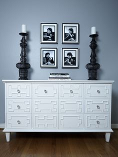 Contemporary Entry Repainted Dresser Design, Pictures, Remodel, Decor and Ideas - page 2