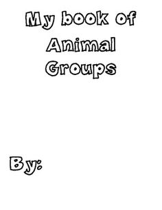 Animal Classification book-- pretty cool and FREE on TPT