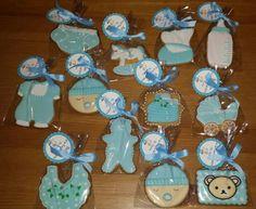 galletas bebé para bautizo