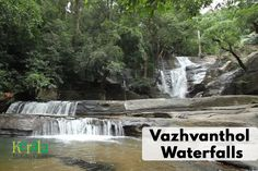#Explore_the_Unexplored - Travel Series DESTINATION 12: Vazhvanthol waterfalls, Thiruvananthapuram  Vazhvanthol waterfalls is located near Vithura, around 46 km from Thiruvananthapuram on the way to Bonacad. We need to walk about 2 km through forest to reach the lower waterfalls. It is located deep amidst Kannithadam forest. The waterfall is located in area that is richly blessed with natural beauty. An ideal place for adventure lovers and trekkers.