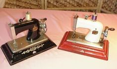 antique  child's sewing machines