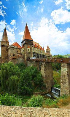 Corvin Castle is a Gothic-Renaissance castle in Hunedoara, in the region of Transylvania, Romania.