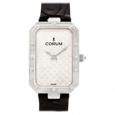 Corum Corum Reference #: 24 706 59. Womens Quartz Watch White Gold Silver 28 MM. Verified and Certified by WatchFacts. 1 year warranty offered by WatchFacts. #androidwatch,digitalwatch,gpswatch,sportwatch,quartzwatch,luxurywatches,elegantwatches,bestwatches,beautifulwatches,menswatches,appleWatch,smartwatches,fashionwatches,aestheticwatches,casualwatches,popularwatches