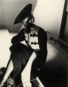 Horst P. Horst - First Photo, 1931. Vogue