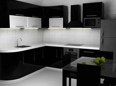 Siyah Mutfak Tasarımları  #black #siyah #mutfak #kitchen #tasarım   #design #cool #deco #dekorasyon #decoration