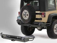 Smittybilt® Gen2 SRC Rear Bumper for 07-14 Jeep® Wrangler JK 2-Door
