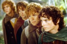 Merry, Pippin, Sam, Frodo... LOTR {Lord of the Rings}